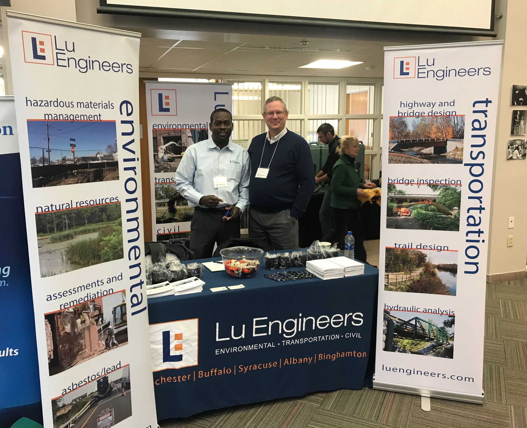 Lu Engineers at Career Fair