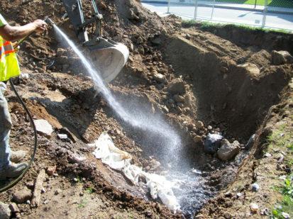 Mitigating Odor During Excavation