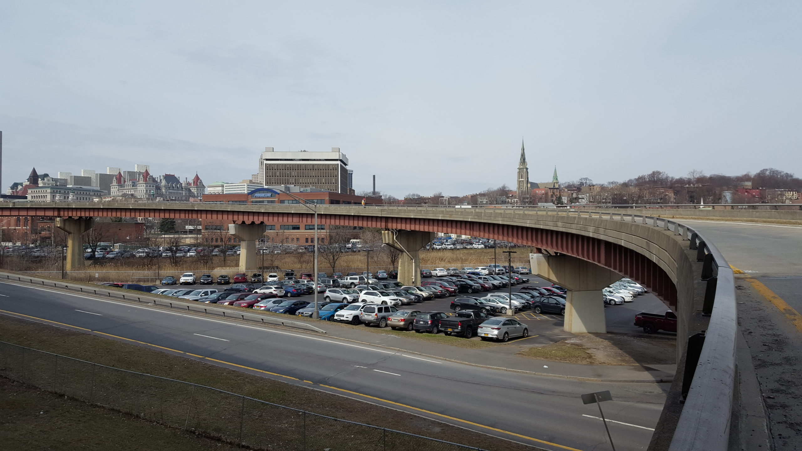 Site of the Future Albany Skyway Highline Park